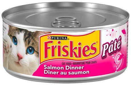 Purina Friskies Salmon Dinner Cat Food