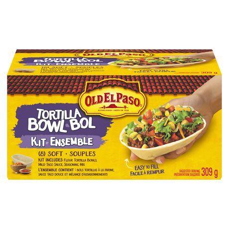 Old El Paso Tortilla Bowl Kit