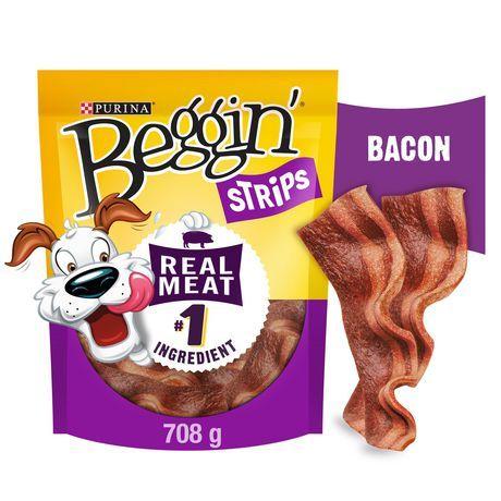 Beggin' Strips Dog Treats, Bacon Snacks 708G