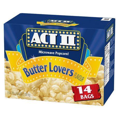 Act Ii Actii 14S Gourmet Microwave Popcorn - Butter Lovers Flavour