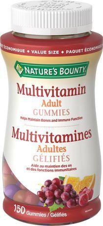 Nature's Bounty Adult Multivitamin Value Size Gummies