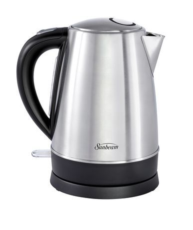 Sunbeam 1.7L Brushed Stainless Steel Cordless Kettle with Rotational Base