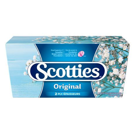 Scotties Regular 2-Ply Facial Tissue