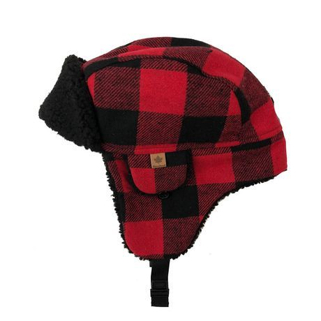 Canadiana Toddler Boys Canadiana Trapper Hat By George