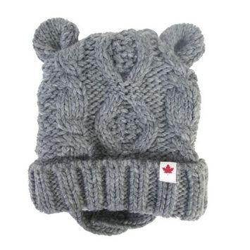 Canadiana Infant'S Knit Hat