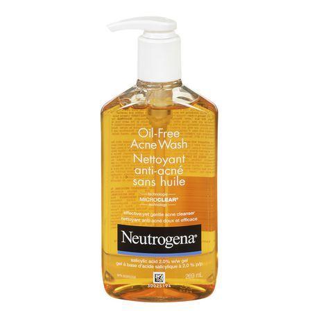 Neutrogena Oil-Free Acne Wash #1