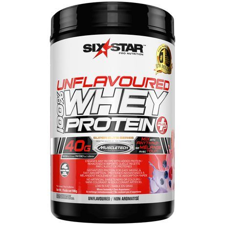 Six Star Pro Nutrition Six Star Elite Series Whey Protein Plus Unflavoured Multi Purpose Mix