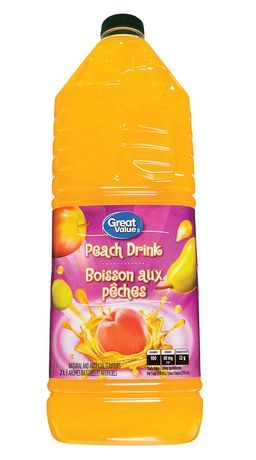 Great Value Peach Punch Drink