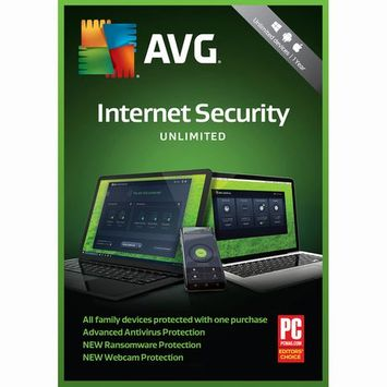 Avg 1 Year Internet Security 2018 Unlimited