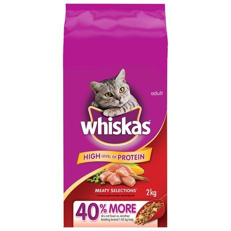 Whiskas Adult Cat Meaty Selections