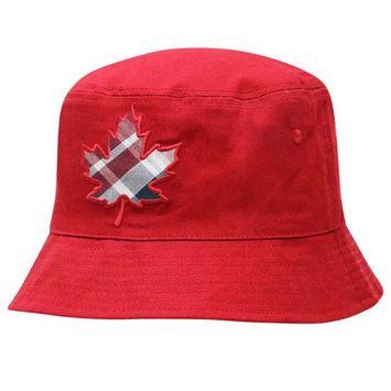 Canadiana Infant Boy'S Reversible Bucket Hat