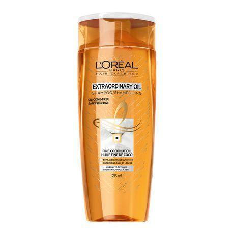L'oreal Paris Hair Expertise Extraordinary Oil Shampoo Fine Coconut Oil, 385 Ml