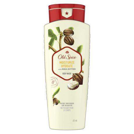 5pk Old Spice Moisturize Hydrate Shea Butter Body Wash 16 Oz