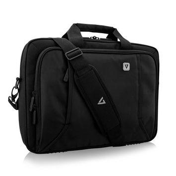 V7 CTP16-BLK-9N 16 in. Professional Toploading Laptop Case, Black