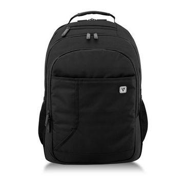 V7 CBP16-BLK-9N 16 in. Professional Laptop Backpack, Black