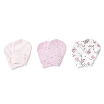 George Baby Girls' 3-Pack Mittens