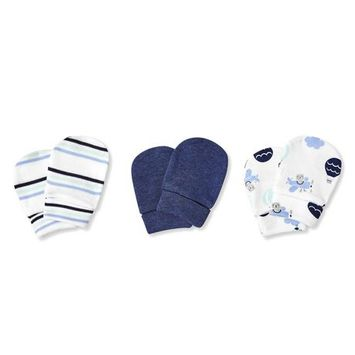George Baby Boys' 3-Pack Mittens