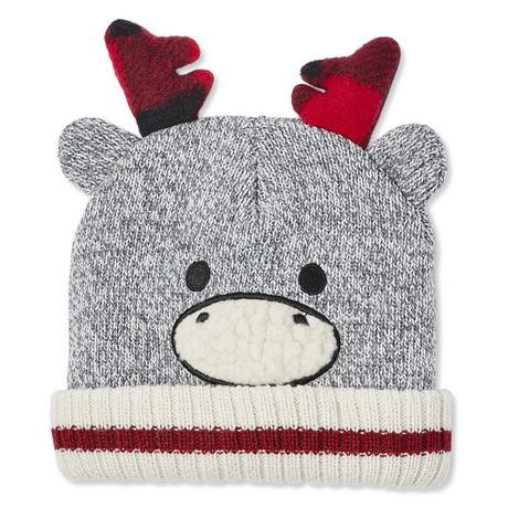 Canadiana Toddlers' Unisex Cuffed Critter Toque