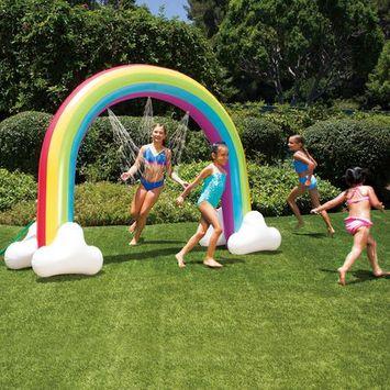 Play Day Rainbow Arch Sprinkler