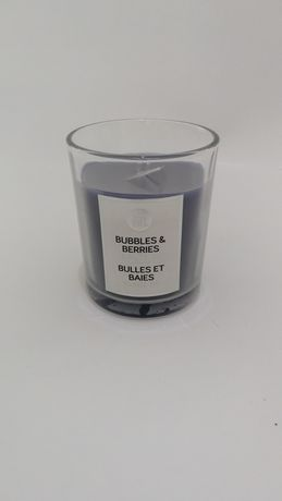Home Trend Glass Jar Candle Blue 2' X 3'