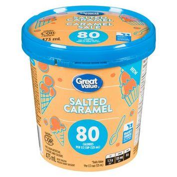 Great Value Salted Caramel Frozen Dairy Dessert