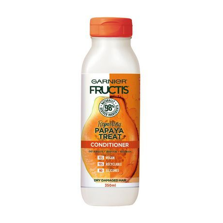 Garnier Fructis Hair Treats Papaya Conditioner, 350 mL