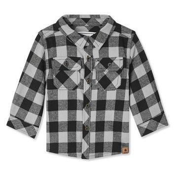 Canadiana Baby Boys' Flannel Shirt
