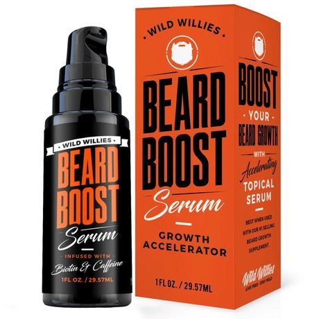 Wild Willies Beard Boost Growth Serum