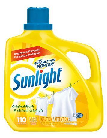 Sunlight Laundry Sunlight Liquid Laundry Detergent, Original Fresh