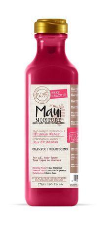 Maui Moisture Lightweight Hydration + Hibiscus Shampoo Bonus
