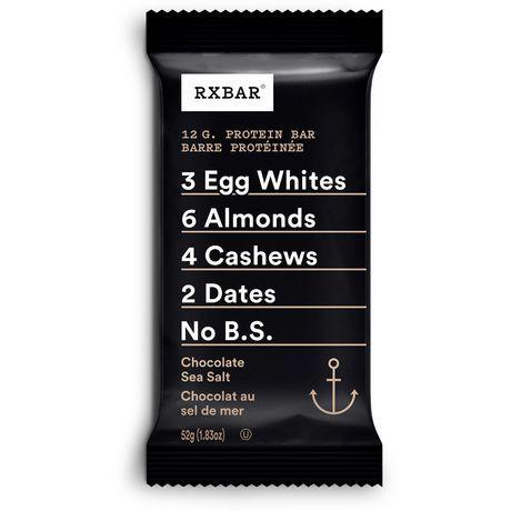 Rxbar Chocolate Sea Salt Protein Bar