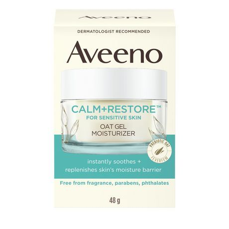 Aveeno Calm+Restore Oat Gel Moisturizer, 48G #1