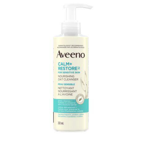 Aveeno Calm+Restore Nourishing Oat Cleanser, 232Ml #1