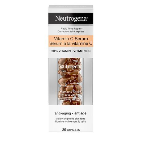 Neutrogena Rapid Tone Repair 20% Vitamin C Serum Capsule 30Ct #1