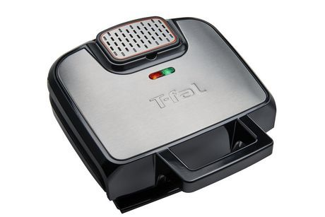 T-Fal Odorless Stainless Steel Electric Contact Grill Stainless Steel