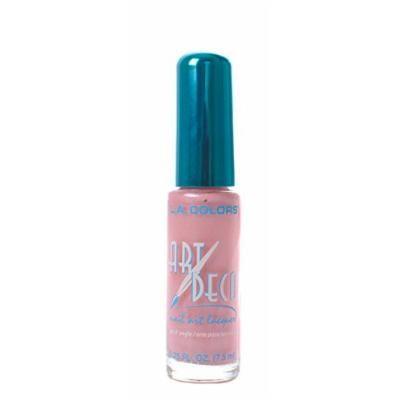 L.A. Colors 5 Pcs Nail Art Nail Deco Nail Lacquer Nail Polish Baby Pink