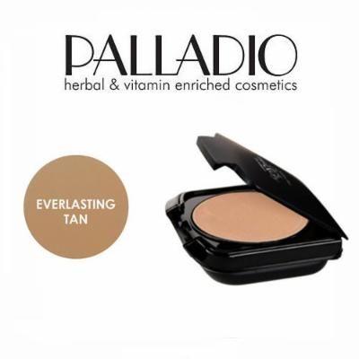 2 Pack Palladio Beauty Herbal Dual Wet & Dry Foundation 404 Everlasting Tan