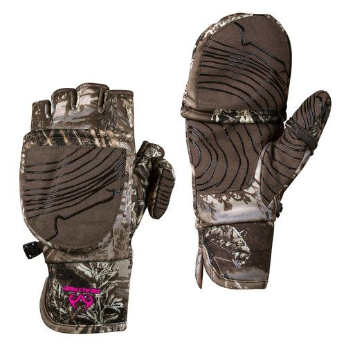 Realtree - Max 1 XT Ladies Pop-Top Gloves