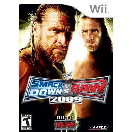 WWE SmackDown vs. RAW 2009 - Wii