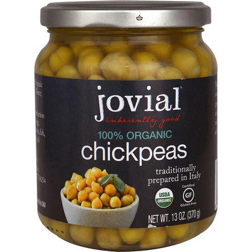 Jovial Organic Chickpeas -- 13 oz