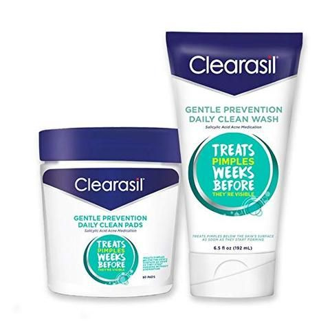 Clearasil® Gentle Prevention Daily Acne Kit