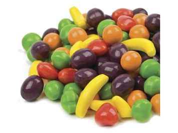 Beulah's Candyland Wonka Fruit Runts Hard Candy fruit shape 1 pound