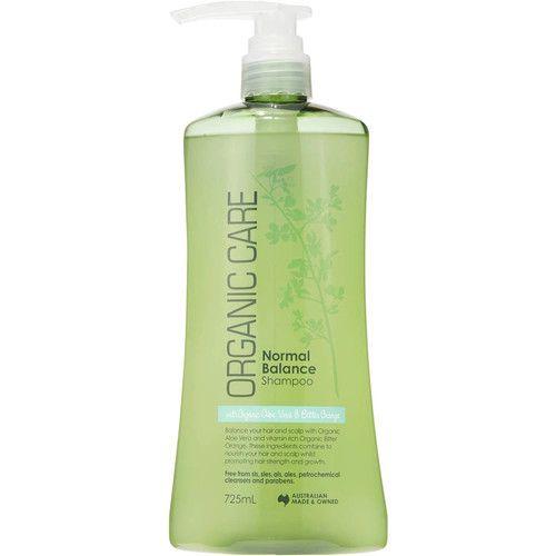 Organic Care Shampoo Normal 725ml