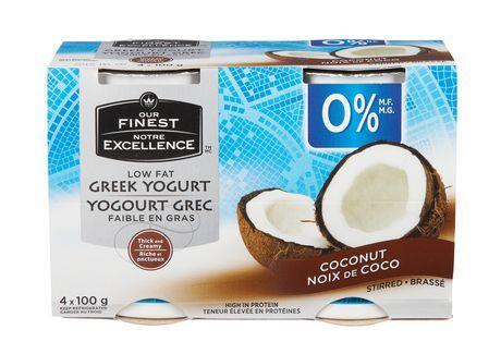 Our Finest Low Fat Coconut Greek Yogurt