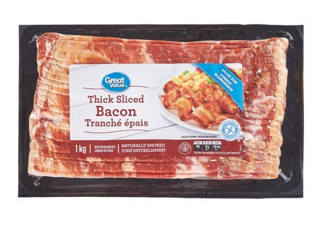 Great Value Extra Thick Cut Bacon
