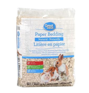 Great Value Paper Bedding