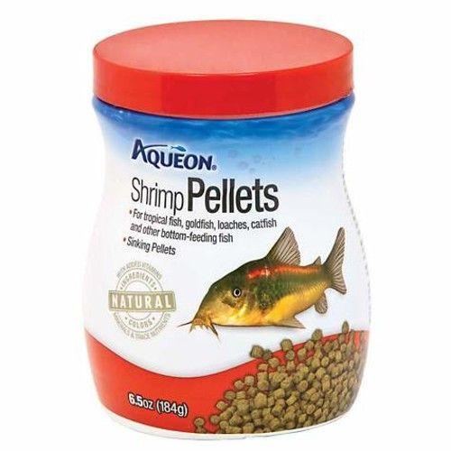 Aqueon Shrimp Pellets Fish Food, 6.5 oz (pack of 1)