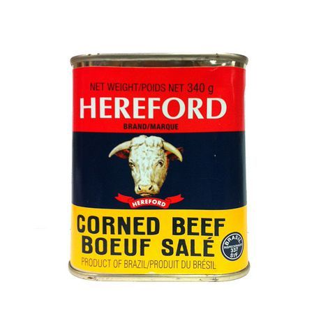 Hereford Corned Beef 12 Cans 340g Each Gluten Free