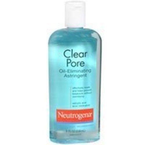 Neutrogena Clear Pore Oil-Eliminating Astringent, 8 OZ (Pack of 6)