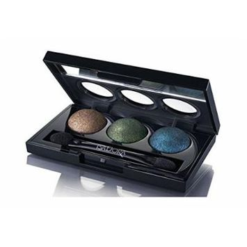 Isadora Eye Shadow Trio. Extra Long Lasting. Fragrance Free. Clinically Tested. (88 Peacock)